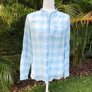 Burberry Brit long sleeve button down top